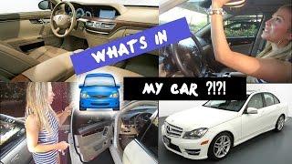 getlinkyoutube.com-Whats In My Car | Car Tour 2015 | Brittany Nicole