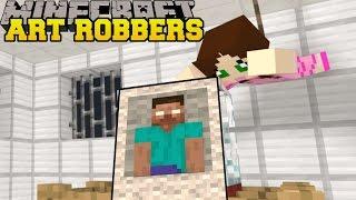 getlinkyoutube.com-Minecraft: ART ROBBERS (STEAL ALL THE ART!) Custom Map