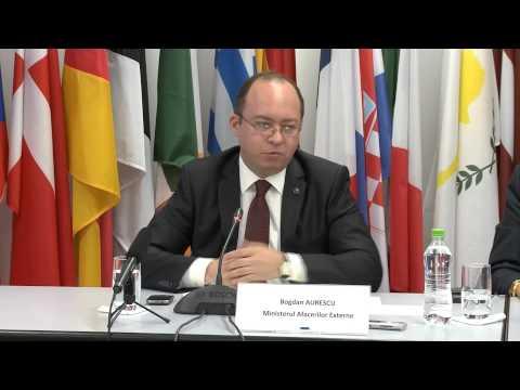 Participarea ministrului Bogdan Aurescu la conferinţa de lansare a Preşedinţiei luxemburgheze a Consiliului UE