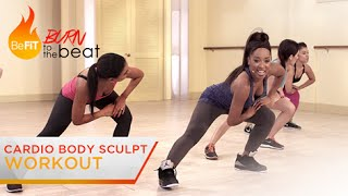 getlinkyoutube.com-Cardio Body Sculpt Workout: Burn to the Beat- Keaira LaShae