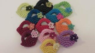 getlinkyoutube.com-كروشيه شنطة صغيرة Crochet Mini Bag