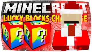 getlinkyoutube.com-MINECRAFT: LUCKY BLOCKS CHALLENGE - CHRISTMAS WITCH | Nunan » Lucky Block Mod Battle Deutsch