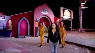 Ninja Warrior بالعربي   لحظة دخول الفنانة الجميلة شيري عادل لبرنامج