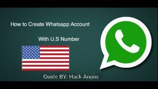 getlinkyoutube.com-Register Whatsapp With Fake number