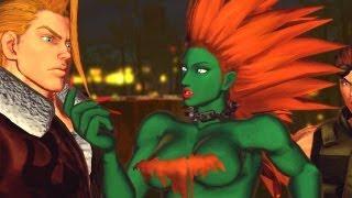 getlinkyoutube.com-Street Fighter X Tekken - All Street Fighter Rival Cutscenes (PC MODS #2) [1080p] TRUE-HD QUALITY
