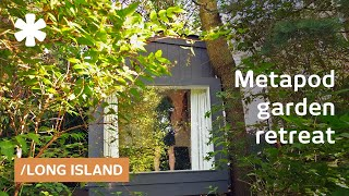 Metapod backyard tiny studio delivers best of NY's urban-rural