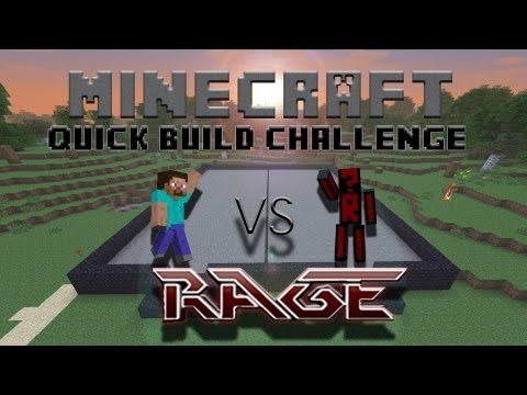 Minecraft Quick Build Challenge - Redstone Door!