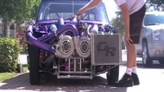 getlinkyoutube.com-Big Block Twin Turbo Chevy II - Fresh Start Up