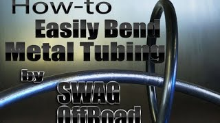 getlinkyoutube.com-How-to Easily Bend Metal Tubing by SWAG Offroad and Mitchell Dillman