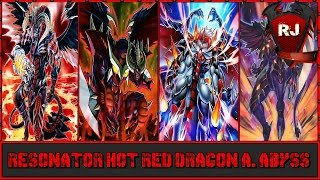 getlinkyoutube.com-YGOPRO - Resonator Hot Red Dragon Archfiend Abyss Deck Profile