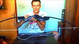 tutorial arco recurvo justiceiro (molas e corda)