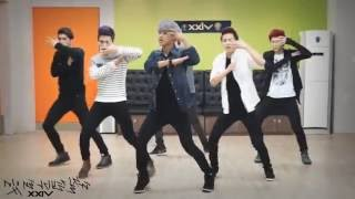 getlinkyoutube.com-VIXX - On And On mirrored Dance Practice