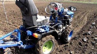 getlinkyoutube.com-Самодельный минитрактор, отчет за два года работы / Homemade mini tractor