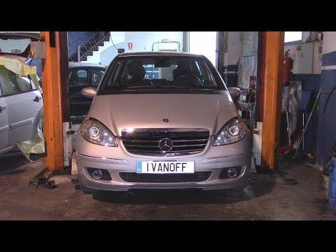 Ремонт автомобиля Mercedes A180CDI W169 замена свечей накала