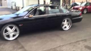 getlinkyoutube.com-RIGHTCHUSS ENT HD/ 96 Impala SS 24 inch VELLANO