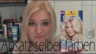 getlinkyoutube.com-Ansatz / Haare selber färben