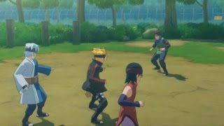 getlinkyoutube.com-Adult Konohamaru BOSS BATTLE! vs Boruto-Mitsuki-Sarada in Story Mode | NARUTO Storm 4 ROAD to BORUTO