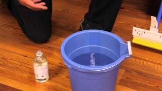 getlinkyoutube.com-How to Clean Buildup on Wood Floors : Wood Flooring