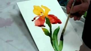 getlinkyoutube.com-رسم  الورد