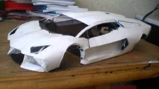 getlinkyoutube.com-lamborghini aventador paper model
