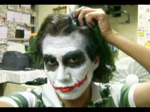 The Best Joker Costume And Make Up...the Making