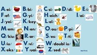getlinkyoutube.com-English Alphabet Pronunciation - Alphabet (ABC) Pronunciation