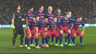 getlinkyoutube.com-PES 2016 PS4 Gameplay - FC Barcelona Vs Real Madrid - UEFA Champions League