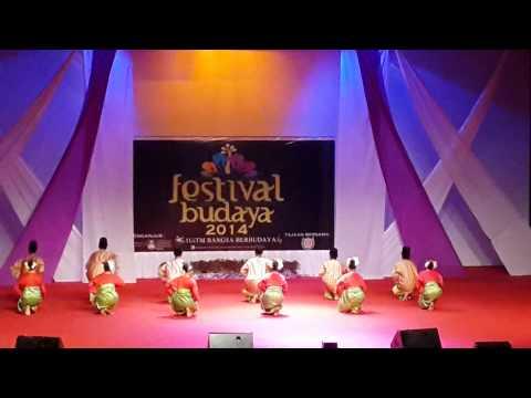 Joget Penambang Muar dan Zapin Melayu Johor - Tarian Rampaian Tradisional Festival Budaya UiTM 2014