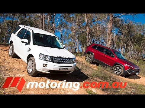2014 Jeep Cherokee v Land Rover Freelander 2 Comparison