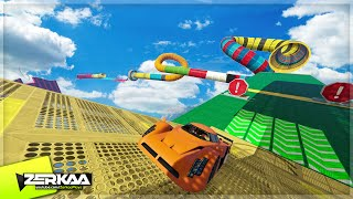getlinkyoutube.com-EXTREME SKY STUNT COASTER (GTA 5 Funny Moments)