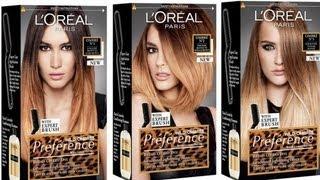 getlinkyoutube.com-Ombré Hair (L'oréal préférence wild ombré)