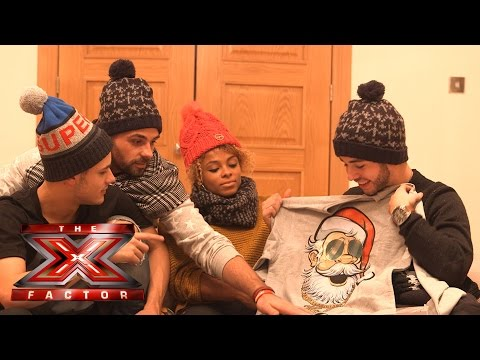 The contestants get a festive delivery from Very.co.uk!| The X Factor UK 2014