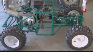 homemade  huge rc 70 cc final test