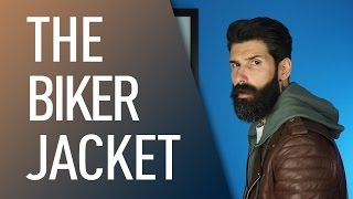 getlinkyoutube.com-Guide to the Biker Jacket | Carlos Costa
