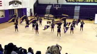 getlinkyoutube.com-Livingston High School 2016 spring concert -color guard performance