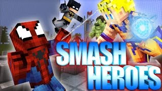 getlinkyoutube.com-BECOMING SMASHING! | Minecraft Mini-Game SMASH HEROES! /w Facecam