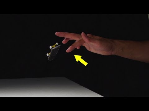 How-To Fingerboard KickFlip - FingerTips Tutorial 3 - Disney Exclusive