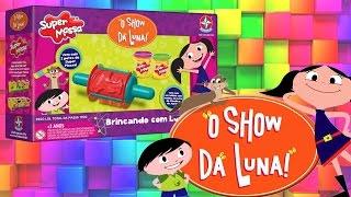 getlinkyoutube.com-O Show da Luna! Brinquedo com Massinha de Modelar Completo em Portugues - Turma kids