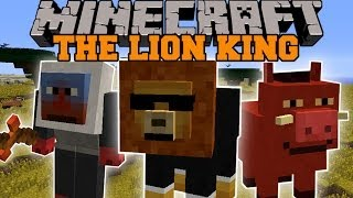getlinkyoutube.com-Minecraft: LION KING MOD (3 EPIC DIMENSIONS, QUESTS, AND STORY!) Mod Showcase
