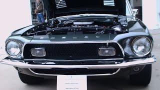 getlinkyoutube.com-1968 Shelby Mustang Cobra GT350 Grn SilverSpringsFord010717