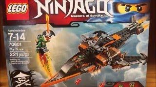 getlinkyoutube.com-LEGO Ninjago Sky Shark Set Review!! Skybound 2016 with Custom Flintlocke