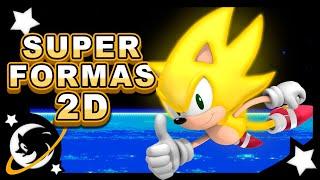 getlinkyoutube.com-Sonic - Cenas do SUPER SONIC em 2D e portáteis