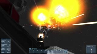 getlinkyoutube.com-Space Engineers ► Capital Ship Warfare