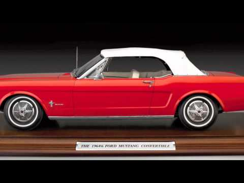 1964 1/2 Ford Mustang Convertible presented by the Danbury Mint