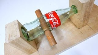 getlinkyoutube.com-How to Drill holes in a Glass Bottle