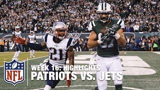 getlinkyoutube.com-Patriots vs. Jets | Week 16 Highlights | NFL
