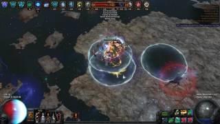 getlinkyoutube.com-Shaper fight / Path of Exile Atlas of Worlds