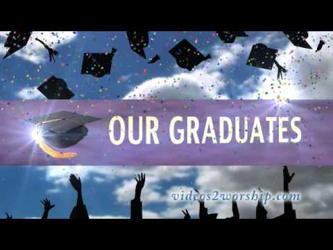 Graduation Celebration Background Loop
