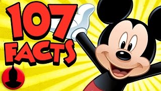 107 Mickey Mouse Facts YOU Should Know! (ToonedUp #34) @ChannelFred