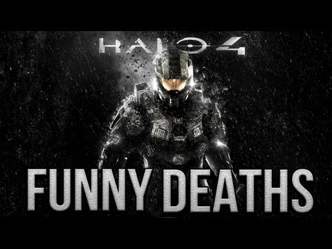 Halo 4 Funny Deaths- H2O Delirious
